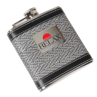 6 oz Herringbone Flask