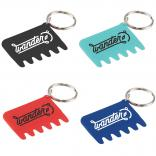 Keyboard Brush with Key Chain