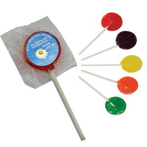 Candylicious Lollipop with Round Label