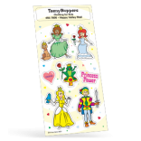 Prince & Princess Sticker Sheet