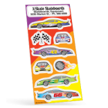 Race Car Sticker Sheet Collection
