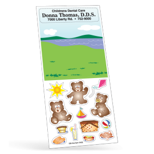 Bear Picnic Peel 'N Play Sticker Sheet Collection