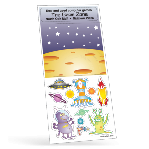 Aliens Peel 'N Play Sticker Sheet Collection