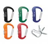 5 Function Carabiner Key Chain