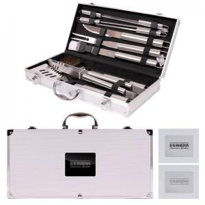 Stainless Steel 11-PC BBQ Set