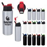 25 oz Spill-Resistant Aluminum Bottle