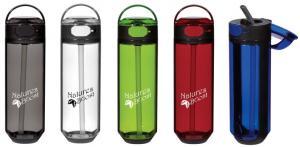 26 oz Spill-Resistant Plastic Bottle