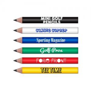 Pre-Sharpened Mini Round Golf Pencil