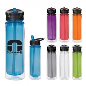 21 oz Clear Tritan Cay Bottle
