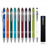 Rubberized Aluminum Stylus Pen