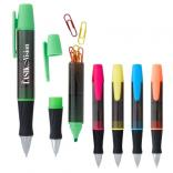 3-in-1 Executive Assistant Highlighter Pen