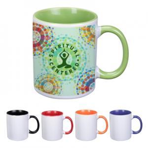 11 oz Full Color Dye Blast Ceramic Mug