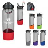 30 oz Tritan Sports Bottle with Carabiner