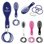 Hair Brush with Hair Bands