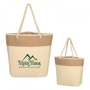 Rope Cotton Canvas Tote Bag