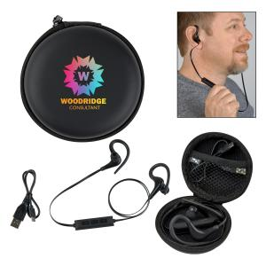 Hands Free Earbuds in Travel Case