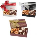 Chocolate Covered Pretzels & Mixed Nuts Executive Gift Box