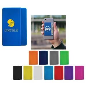 Vertical Silicone Cell Phone Wallet