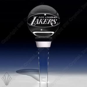 Basketball Shaped Crystal Bottle/Wine Stopper
