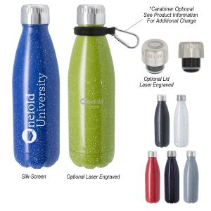 16 Oz. Stainless Steel Speckled Rockies Bottle