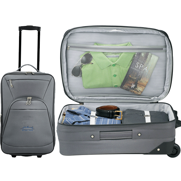 """Luxe 21"""" Expandable Carry-On Luggage"""