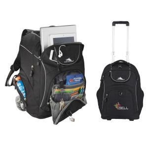 High Sierra Powerglide Wheeled Computer Backpack