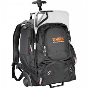 """elleven Wheeled TSA 17"""" Computer Backpack"""