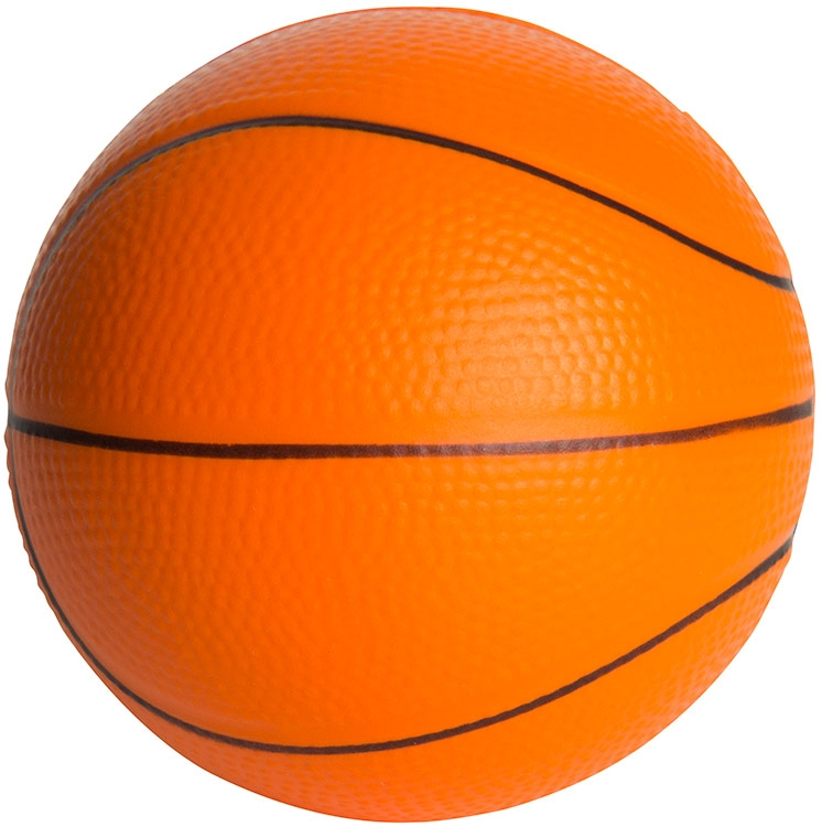 Slow Return Basketball Shaped Stress Reliever