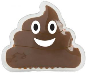 Poop Emoji Gel Beads Hot/Cold Pack