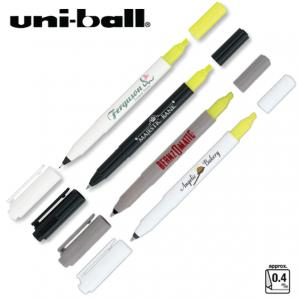 Uni-Ball Combi Pen/Highlighter
