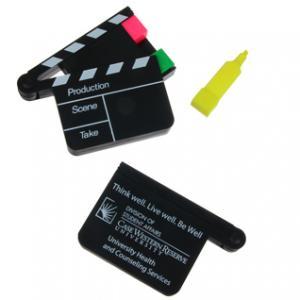 Hollywood Clapboard Highlighter Set