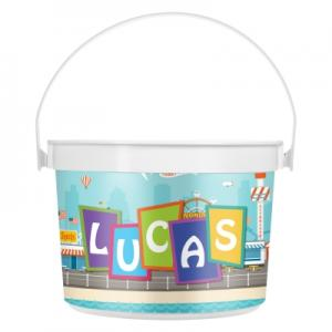48 oz. Full Color Pail with Handle