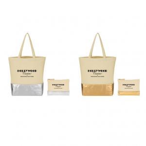Metallic Bottom Tote Bag Kit
