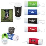 Twist LED Pet Waste Bag Dispenser with Carabiner
