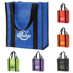 Quilted Non-Woven Tote Bag