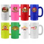 Full Color 14 Oz. Plastic Handle Mug Stein