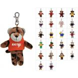Plush Wild Bunch Animal Key Tags