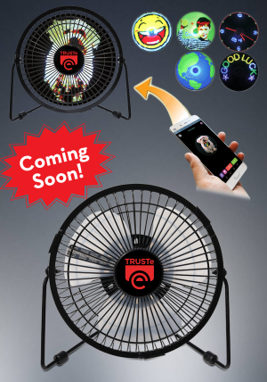 Bluetooth LED fan with App