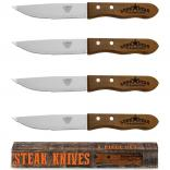 Wood Steak Knife Set