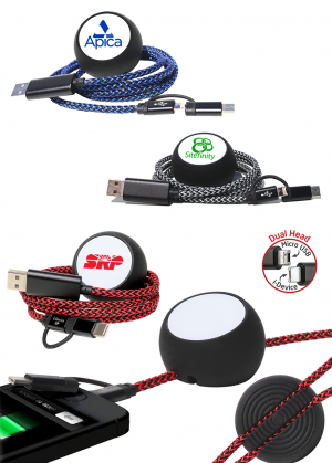 Anchor Cable Weight with Nylon Charging Cable