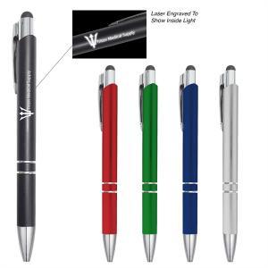 Twist Action LED Stylus Pen