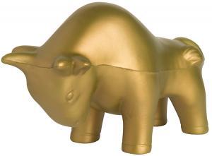 Golden Bull Stress Ball