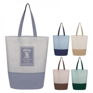 Water Resistant Non-Woven Tote Bag