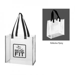 Clear PVC Reflective Tote Bag