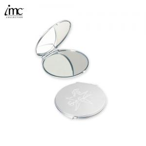 Round Compact Magnifying Mirror