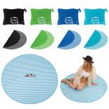 "55"" Beach Blanket with Hidden Storage Compartment"