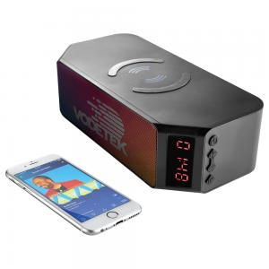 Bluetooth Speaker with Wireless Charging Bank