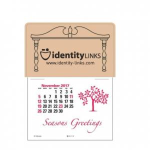 Colonial Sign Outline Self-Adhesive Calendar