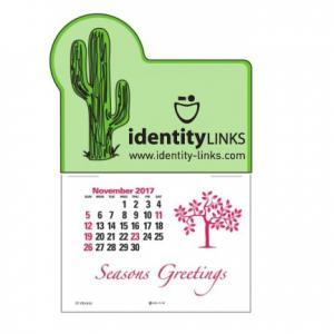 Cactus Self-Adhesive Calendar