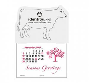 Dairy Cow Self-Adhesive Calendar